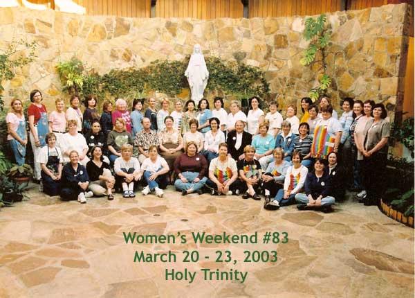 Women's #83, Spring 2003
